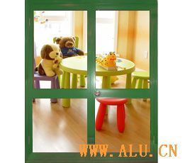 Nanshan 70 spray coating hung door