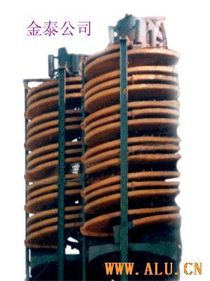 spiral chute, FRP spiral chute-jintai10