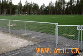 Powder Coated Steel Fences