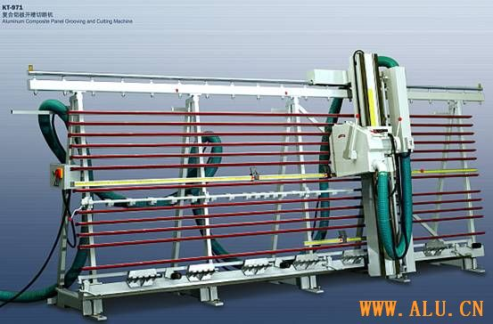 Aluminum Composite Panel Grooving & Cutting Machine