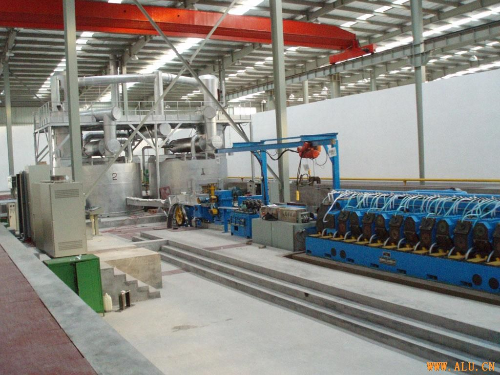 TECHNICAL SPECIFICATIONS OFALUMINUM ROD CONTINUOUS CASTINGAND ROLLING LINE