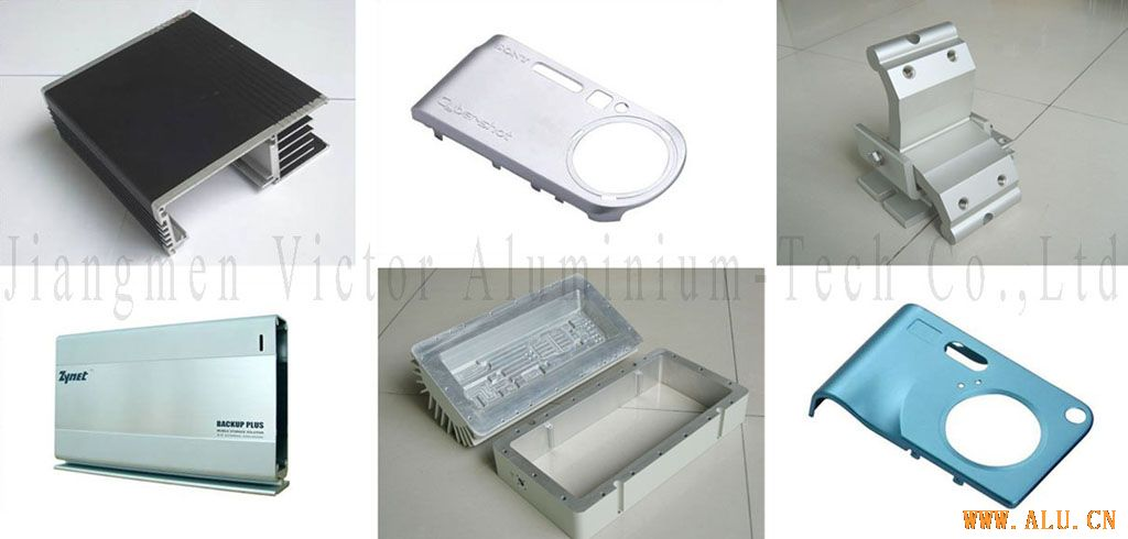 Aluminium enclosure for electronic product 02