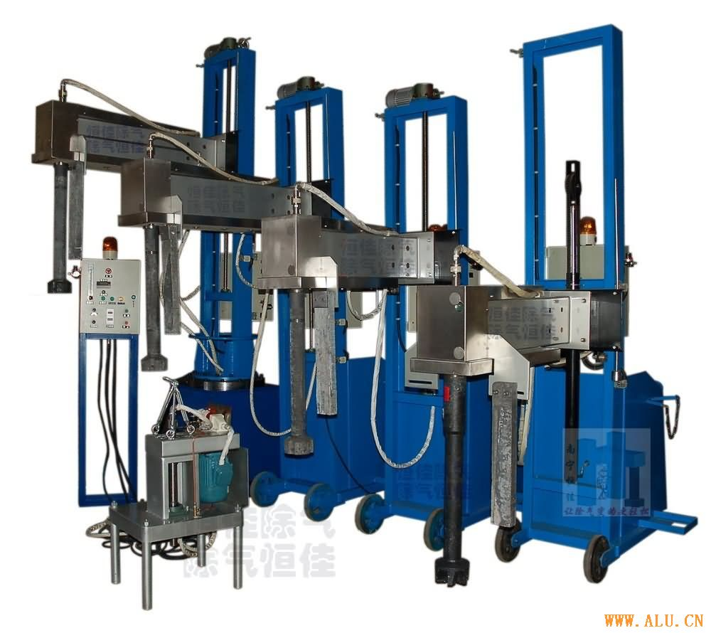 Sell Aluminum melt degassing machine
