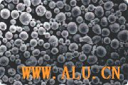 Aluminum powder for PV industry