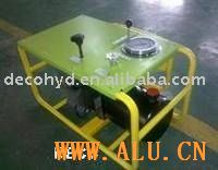 butting welding machine hydraulic power unit