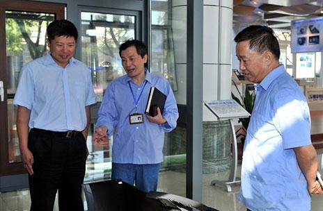 南平市副市长范朝晖来南平铝业公司调研