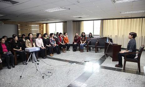 广投银海铝业举办女性仪容仪表知识讲座