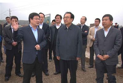 山西省副省长杜善学到山西复晟铝业视察