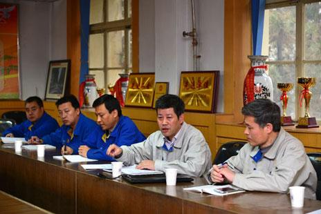 西北铝厂级领导班子成员深入基层开展专题调研