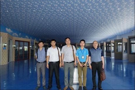 湖北省恩施市客户代表参观考察奋安集团