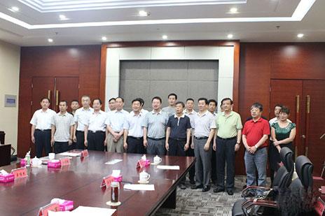 中国有色金属加工工业协会领导莅临山东临朐•窗博城调研工作