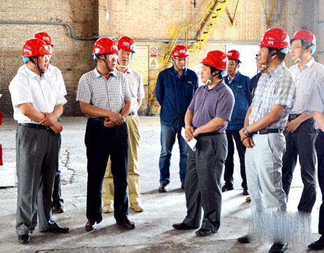 国家节能目标考核组到中电投宁夏能源铝业检查