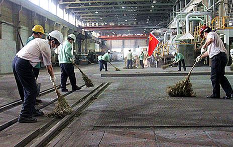 中铝上海铜业本部党员下基层开展专题党日活动