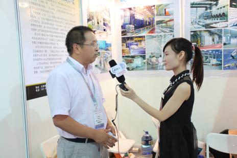 2014铝工业展:中国铝业网采访中健铭睿(天津)工业炉有限公司纪实