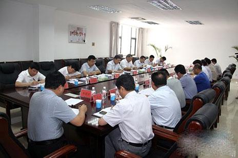 陕西省国资委主任刘阳指导榆林新材料集团领导班子专题民主生活会