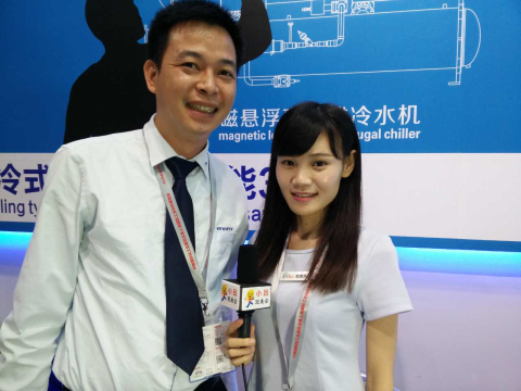 小吕跑展会――2015上海铝业展:青风环境股份