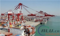 中国11月份出口未锻轧铝及铝材38万吨