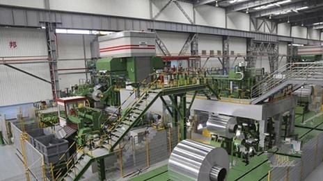 天津忠旺2350mm冷轧机实现较高轧制速度