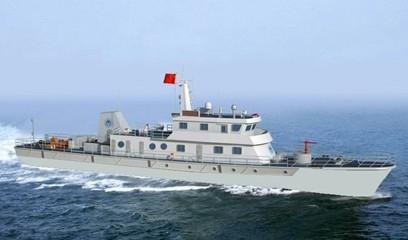 兰溪铝合金渔政船标准化改造后首度下水