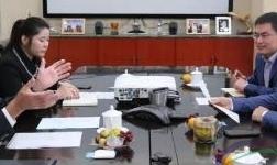 魏桥创业集团副董事长张波会见国际铝协秘书长罗恩・耐普