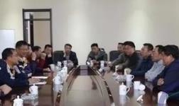 晋能电力副总经理贾新斌到华润调研考察