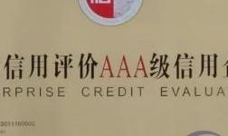 中孚实业获评企业信用评价AAA级信用企业