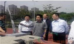 葛红林视察中国造防洪神器福州示范工程