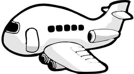 承认飞机简笔画