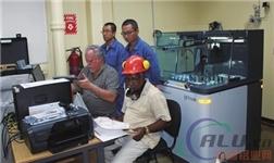 阿尔帕特氧化铝厂实验室设备安装调试