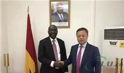 博赛集团袁志伦董事长出访非洲加纳并会见副总统Mahamudu Bawumia先生