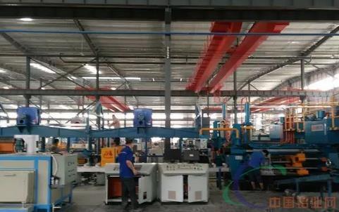 热烈祝贺华建铝业科技第一条挤压生产线试产成功