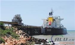 酒钢阿尔帕特氧化铝厂所需重油运抵凯撒港