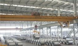 南邦铝业公司安装新设备谋求提产扩能