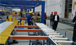山东华宇铝加工事业部5系变形铝合金大扁锭试产成功