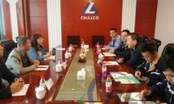 兰州资源环境职业技术学院副院长张琳一行赴中国铝业青海分公司考察交流
