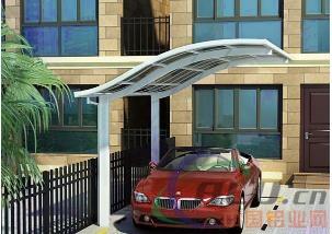 常见铝合金车棚建筑受损的形式有哪些?
