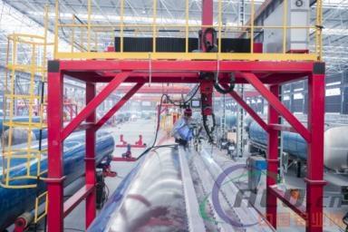 山东三星明航专汽生产线智能化改造撬动产业发展新动能