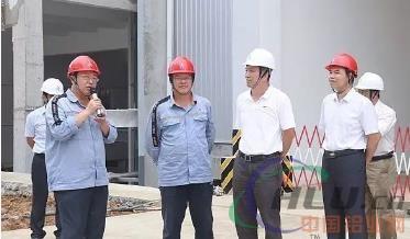 百色市人大常委会副主任阙建林到华磊公司调研
