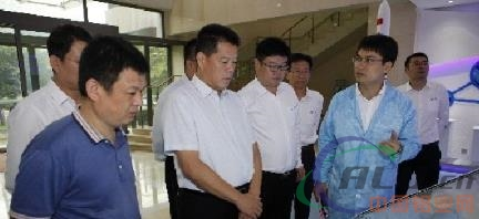 李伟到西安兖矿科技公司调研指导工作