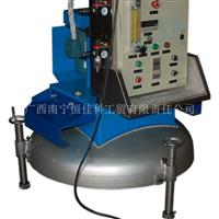 供应南宁恒佳XPC150锅盖式可调支脚铝液在线除气精炼机