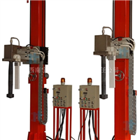 XPC320方通立柱形铝液除渣除气机