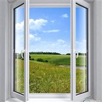 铝配件 平开门窗铝型材
