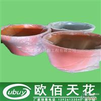 圆桶锅型灯罩型铝单板彩色图案
