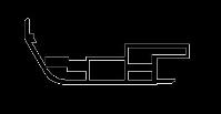 供应地铁门铝型材