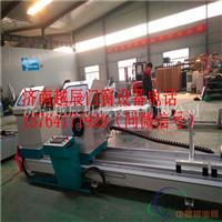 在湖南邵阳市工地上制作平开窗购买哪些机器