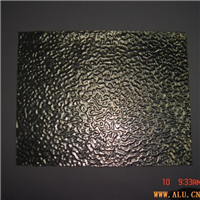 patterned aluminium board