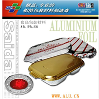 Aluminium foil air tableware