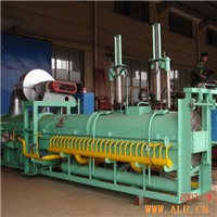Supply heating furnace of single long rod