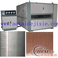 供应铝板抛光机 钛板抛光机 塑料板抛
