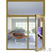 Nanshan63--Heat insulation in-opening door